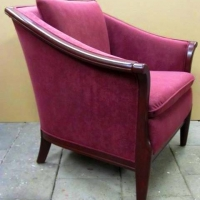 Stoffering fauteuil